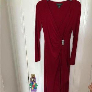 Ralph Lauren long sleeve gown size 4